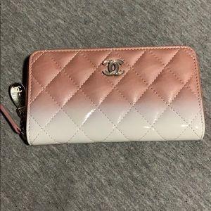 Chanel waterfall wallet